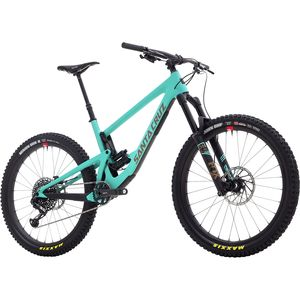 Santa Cruz Bicycles Bronson Carbon CC 27.5+ X01 Eagle Reserve Complete Mountain Bike