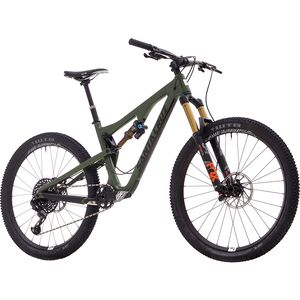 Santa Cruz Bicycles Bronson 2.1 Carbon C GX Eagle Complete Mountain Bike - 2018