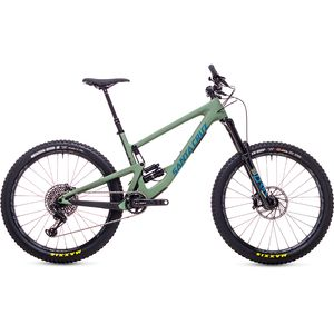 Santa Cruz Bicycles Carbon CC 27.5+ X01 Eagle Complete Mountain Bike