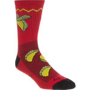 SockGuy Taco Tuesday 6in Sock