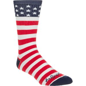 SockGuy USA Flag 8in Sock
