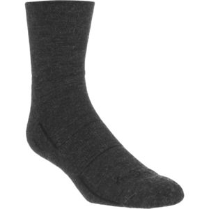 SockGuy Charcoal 4in Wool Socks