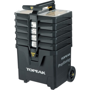 Topeak PrepStation 2 Rolling Tool Station with 40 Tools