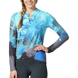 Terry Bicycles Soleil Front Zip Jersey - Long-Sleeve - Women's