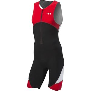 TYR Padded Carbon Front Zip Tri Suit - Men's
