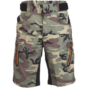 ZOIC Ether Jr Camo Bike Short - Boys'