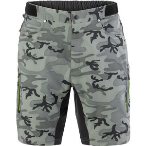 ZOIC Ether 9 Camo Short + Essential Liner - Men's