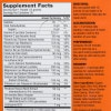 - Supplement Facts