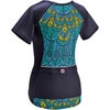 Moxie Cycling Color Block Jersey - Short Sleeve - Women's Back