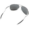 Oakley Crosshair Polarized Sunglasses Through the lens