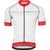Giordana Trade FormaRed Carbon Jersey - Men's Forte White/Red (*Discontinued)