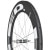 HED Stinger 9 FR Carbon Road Wheelset - Tubular Black
