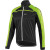 Louis Garneau Glaze 2 Jersey Jacket - Men's Black/Green