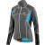 Louis Garneau Enerblock Women's Cycling Jacket Gray/Black