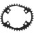 Osymetric O-14 4 Arm Chainring 110mm BCD Black