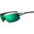 Tifosi Optics  Podium XC Sunglasses  Black-White/Clarion Green-AC Red-Clear